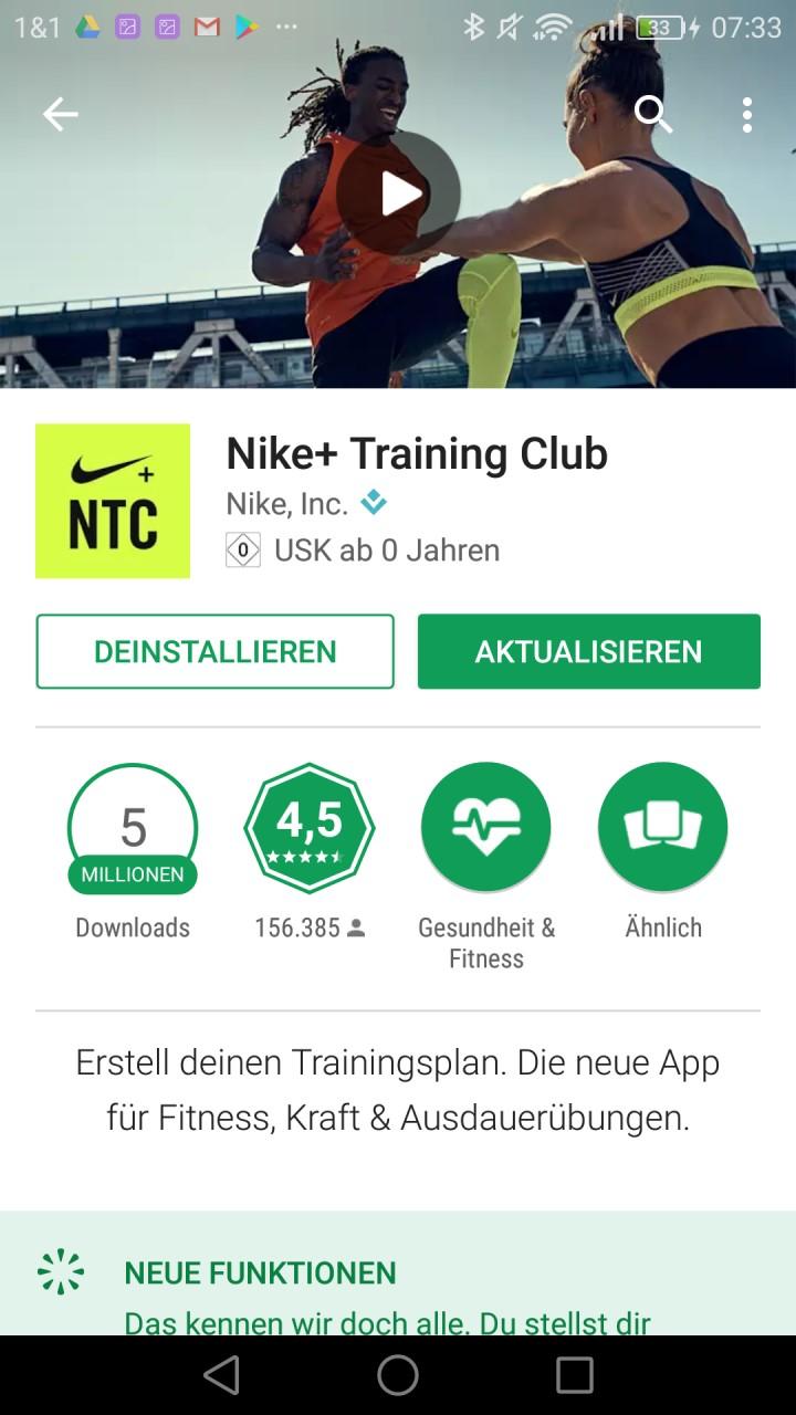 Nike Training Club App im Test: Die beste Fitness-App!? - fitness ...