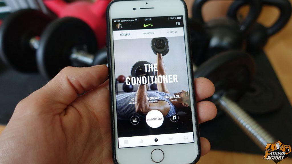 nike training club app im test die beste fitness app. Black Bedroom Furniture Sets. Home Design Ideas