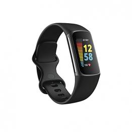 Fitbit Charge 5 Aktivitäts-Tracker mit 6-monatiger Premium-Mitgliedschaft, bis zu 7 Tagen Akkulaufzeit und Tagesform-Index - 1